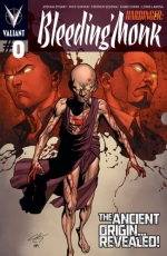 Harbinger: Bleeding Monk # 0