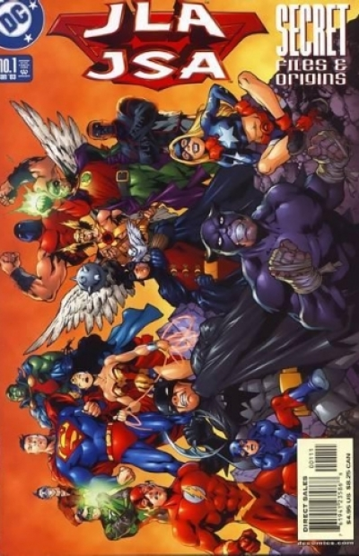 JLA/JSA Secret Files and Origins # 1