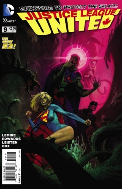 Justice League United # 9