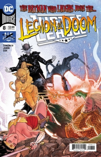 Justice League vol 4 # 8