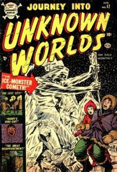 Journey into Unknown Worlds # 17