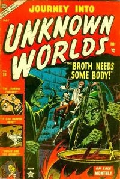 Journey into Unknown Worlds # 18