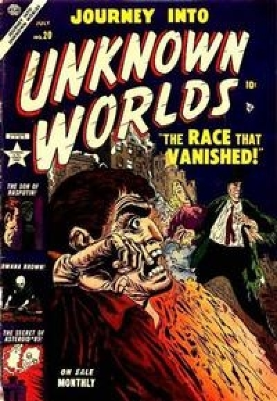 Journey into Unknown Worlds # 20