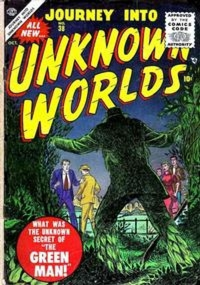 Journey into Unknown Worlds # 38