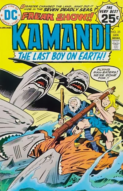 Kamandi, The Last Boy on Earth # 25