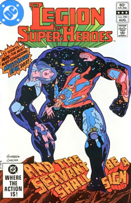 Copertina di Legion of Super Hero vol 2 n. 290