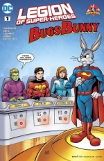 Legion of Super-Heroes/Bugs Bunny Special # 1