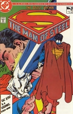 The Man of Steel vol 1 # 5