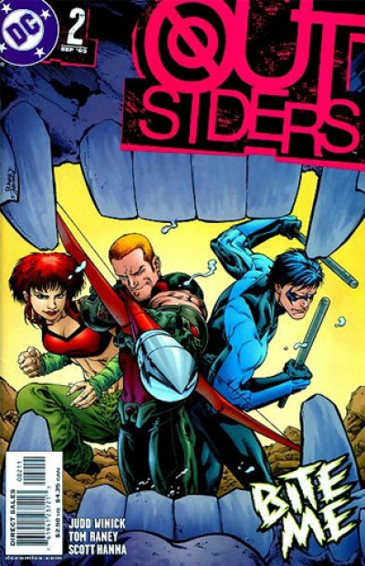 Outsiders vol 3 # 2