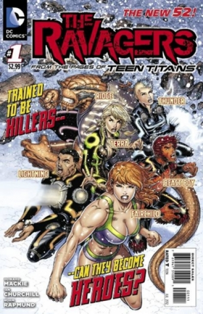 The Ravagers  # 1