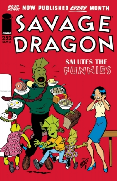 Savage Dragon vol 2 # 252