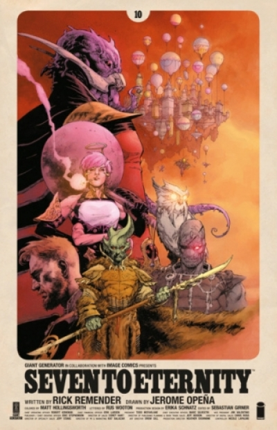 Seven To Eternity # 10