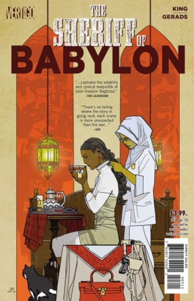 Sheriff of Babylon # 3