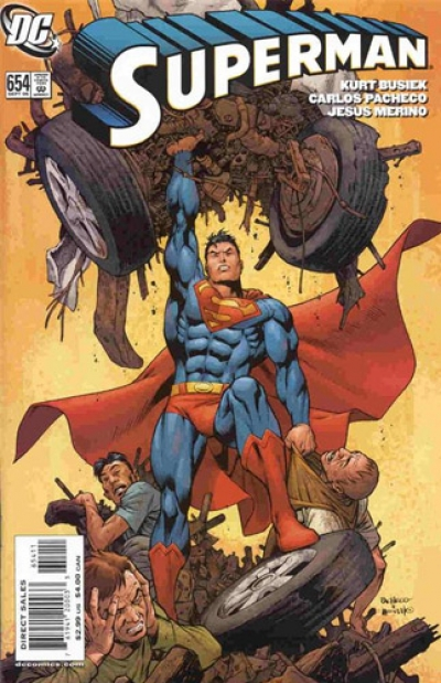 Superman vol 1 # 654