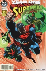 Superman: The Man of Steel Annual # 4