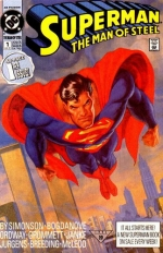 Superman: The Man of Steel # 1