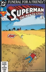 Superman: The Man of Steel # 21