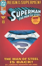 Superman: The Man of Steel # 22