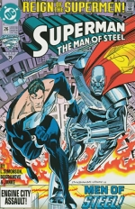 Superman: The Man of Steel # 26