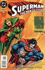 Superman: The Man of Steel # 43