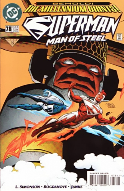 Superman: The Man of Steel # 78