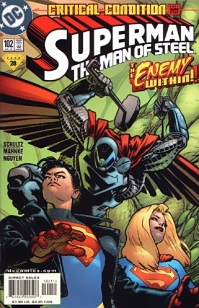 Superman: The Man of Steel # 102