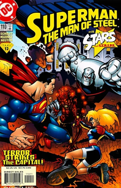 Superman: The Man of Steel # 110