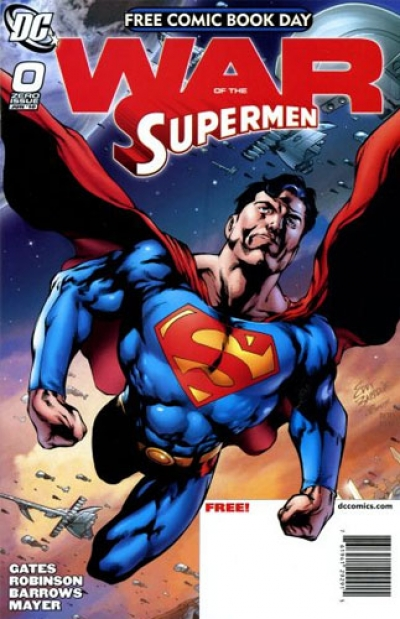 Superman: War of the Supermen # 0
