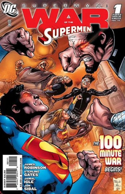 Superman: War of the Supermen # 1
