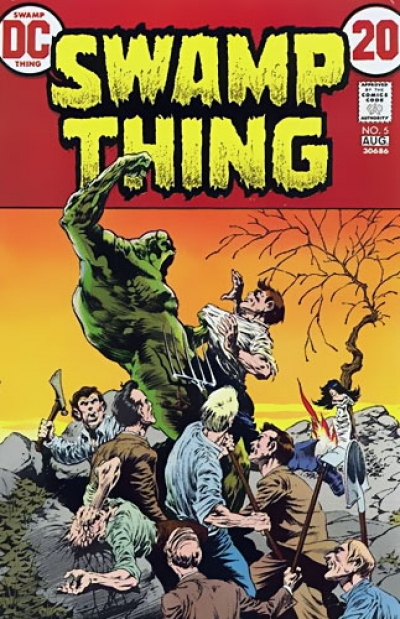 Swamp Thing vol 1 # 5