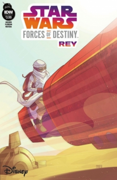 Star Wars: Forces of Destiny - Rey # 1