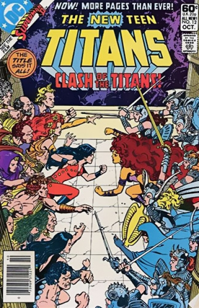 The New Teen Titans # 12