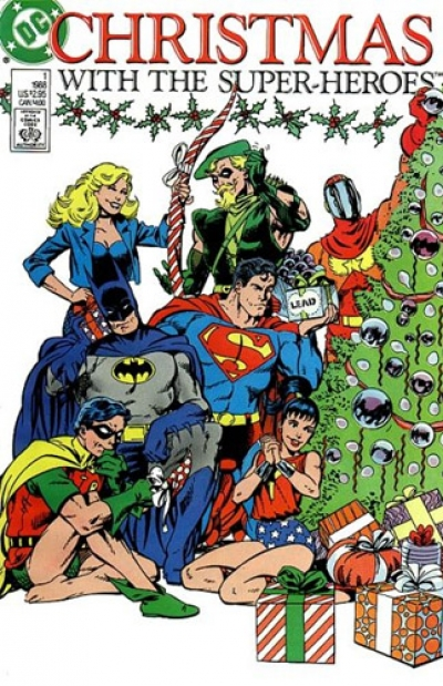 Christmas with the Super-Heroes # 1