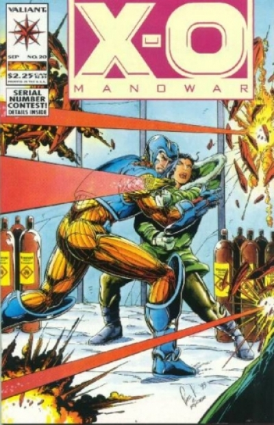 X-O Manowar vol 1 # 20